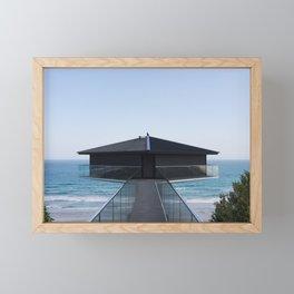 Pole House Ocean Views Framed Mini Art Print
