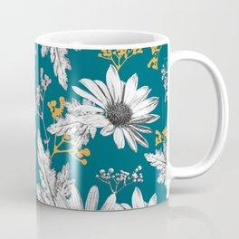 Stippled Daisies Coffee Mug