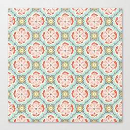 Alhambra Tile Canvas Print