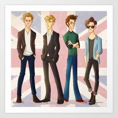 Life Ruining British Actors Art Print
