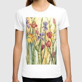 Spring Medley Flowers T-shirt