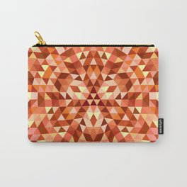 Hot triangle mandala Carry-All Pouch