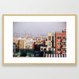 Brooklyn, New York Framed Art Print