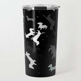 dachshund dog constellation Travel Mug