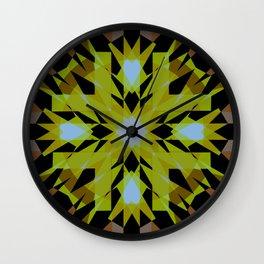 Fragmented Star Wall Clock