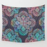 boho Wall Tapestries featuring Boho Intense by micklyn
