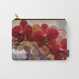 The Religious Mind, Explosion of Love - Quote Carry-All Pouch