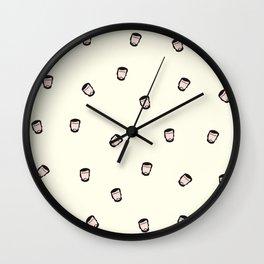 Amor 77 (Cortázar) Wall Clock