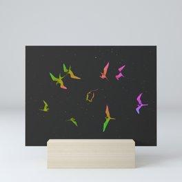 The magnificent frigatebirds *N* by #Bizzartino Mini Art Print