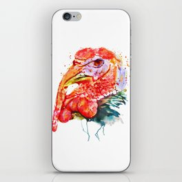 Turkey Head iPhone Skin