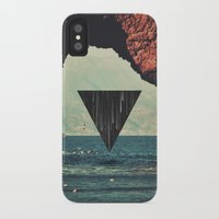 portal iPhone & iPod Cases featuring Portal by maysgrafx