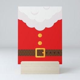 Santa Claus Suit Costume Mini Art Print