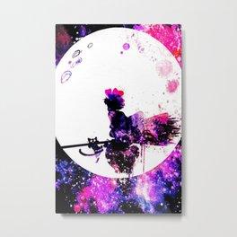 Kiki's Jiji Metal Print