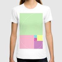 fibonacci T-shirts featuring The Fibonacci Sequence by Macie rae