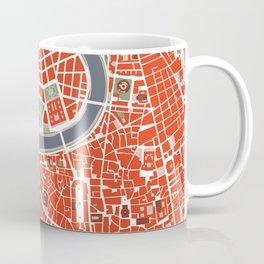 Rome city map classic Coffee Mug