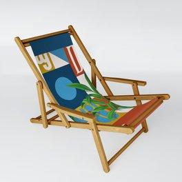 Geo Alphabet #1 Sling Chair