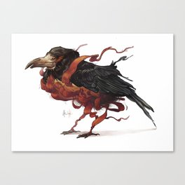Tapestry Rook Canvas Print