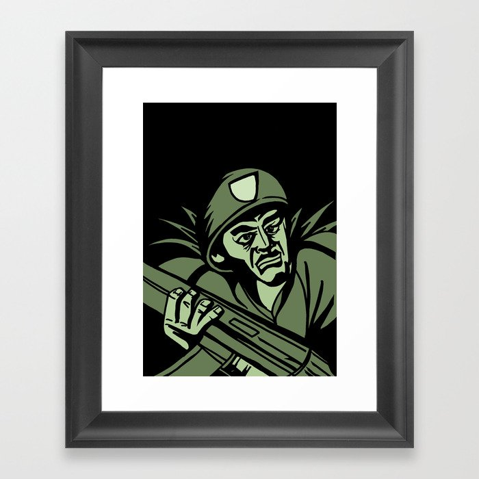 This is my Weapon Framed Art Print