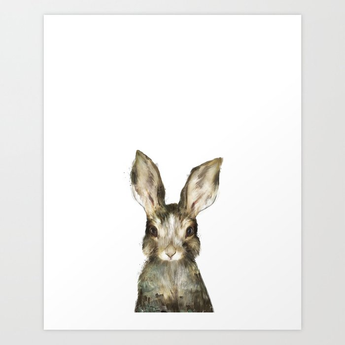 Discover the motif LITTLE RABBIT by Amy Hamilton as a print at TOPPOSTER