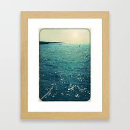Sea is Always in your Mind Framed Art Print