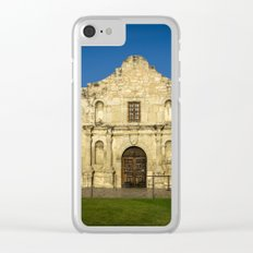 Empty Alamo Clear iPhone Case