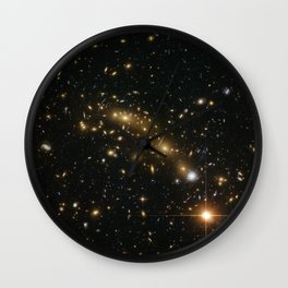 Space Stars Wall Clock