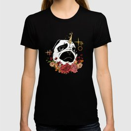 Sparkly Flowers Puggicorn T-shirt