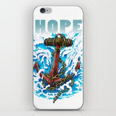 Hope is my Anchor iPhone & iPod Skin