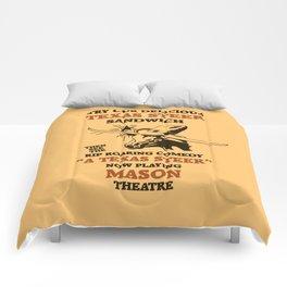 Texas Steer Sandwich Comforters