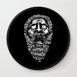 PLATON ERA ABURRIDO Wall Clock