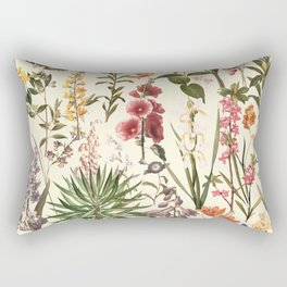 Secret Garden VI Rectangular Pillow