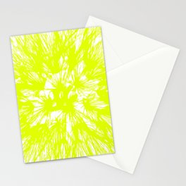Make A Wish Dandelion Vector In Yellow Stationery Cards
