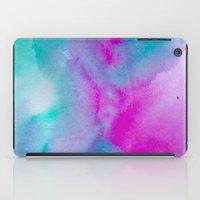aurora iPad Cases featuring Aurora by elena + stephann