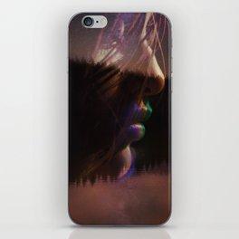 Neon Kiss iPhone Skin