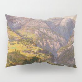 View from Stalheim (Fra Stalheim)  Pillow Sham