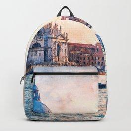 Venice Gondolas, Italy Backpack