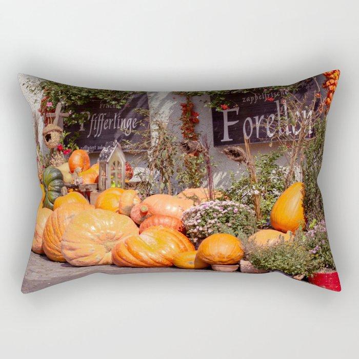 The pumpkin Rectangular Pillow