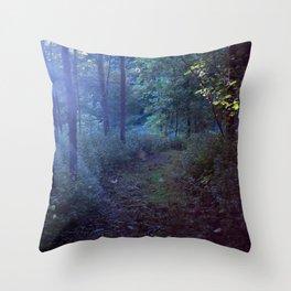 The Magic at Dusk Throw Pillow