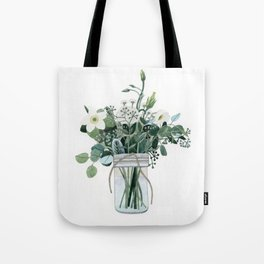Forest Bouquet Tote Bag