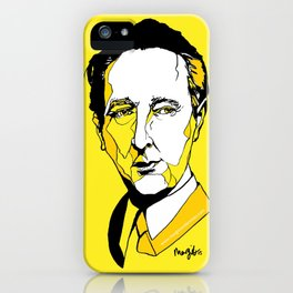 Czech composer & Musician Bohuslav Martinů iPhone Case