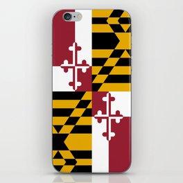 State flag of Flag Maryland iPhone Skin
