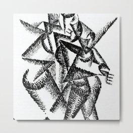 Gino Severini Tango Argentino Metal Print