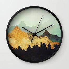 Patina Hills Wall Clock
