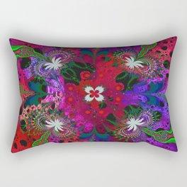 Hodge Podge Psychedelic Rectangular Pillow
