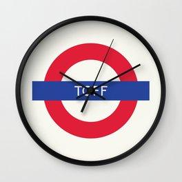 Toff   TFL Wall Clock