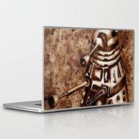 dalek Laptop & iPad Skins featuring Dalek by Redeemed Ink by - Kagan Masters