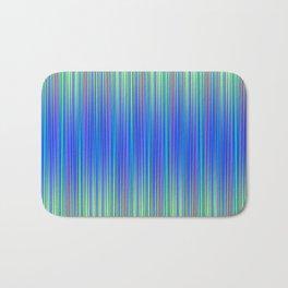 Lines 177 in Blue Bath Mat