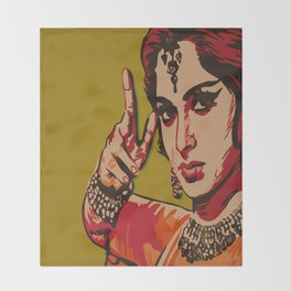 Bollywood Style Throw Blanket