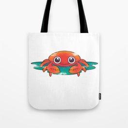 Crab Fun Cute Tote Bag