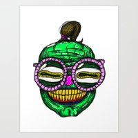 rave Art Prints featuring Rave by Beat